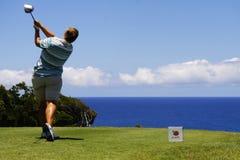 golfowe damy otwierają Tenerife Zdjęcia Royalty Free