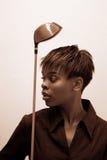 golfowe przemysłowe kobiety Obraz Stock