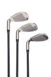 golfowi żelaza zdjęcie royalty free