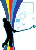 golfowy bawić się royalty ilustracja