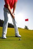 golfowy bawić się mężczyzna Fotografia Stock