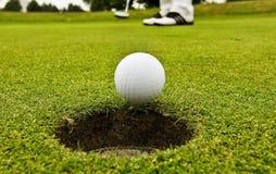 golfowy gracz Fotografia Royalty Free
