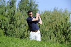 Golfowy gracz Zdjęcie Stock