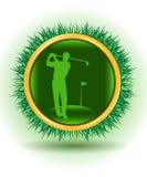 golfowy gracz Zdjęcia Royalty Free