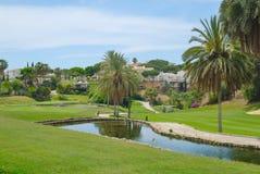 golfowy jezioro Zdjęcia Royalty Free