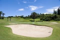 golfowy kurort Zdjęcie Stock