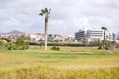 golfowy kurort Zdjęcia Royalty Free