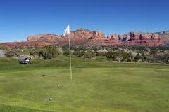 golfowy sedona Fotografia Stock