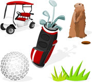 golfowy set Zdjęcie Stock