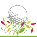 golfowy target142_0_ rośliny ilustracja wektor