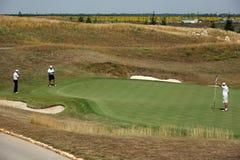 Golfowy turniej - golfowy gracz Fotografia Royalty Free