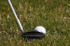 Golfowy turniej - piłka golfowa Zdjęcie Royalty Free