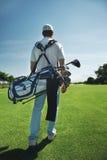 Golfpåseman arkivbild