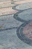Golfpatroon van betonmolens op de gang Royalty-vrije Stock Foto