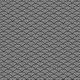 Golfpatroon van Origami, Japans document stock afbeeldingen