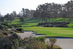 Golfplan Stockbild