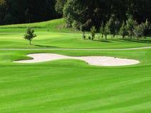Golfplatz Stockfoto