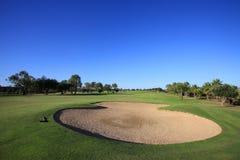 Golfplatz Stockfotografie