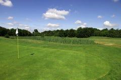 Am Golfplatz Lizenzfreies Stockbild