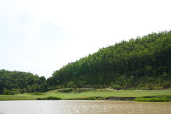 Golfplatz. Stockfotos