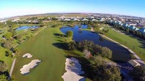 Golfplatz stock footage