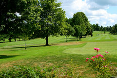 Golfplatz 4 Lizenzfreies Stockfoto