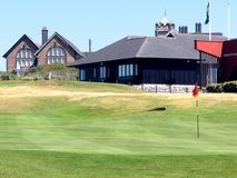 Golfplatz Lizenzfreie Stockfotografie