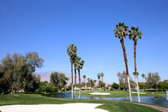 Golfplatz am ANA-Inspirationsgolfturnier 2015 Stockbilder