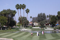 Golfplatz am ANA-Inspirationsgolfturnier 2015 Stockbild