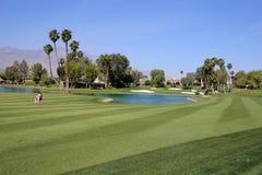 Golfplatz am ANA-Inspirationsgolfturnier 2015 Lizenzfreies Stockfoto