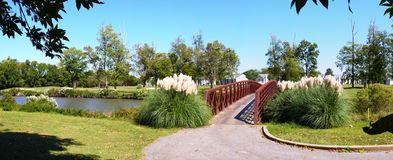 Golfplatz-Brücke Lizenzfreie Stockbilder