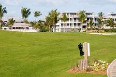Golfplatz-Eigentumswohnungen Lizenzfreie Stockbilder