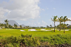 Golfplatz im Paradies Lizenzfreie Stockbilder