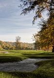 Golfplatz-Landschaft Lizenzfreie Stockfotografie