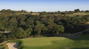 Golfplatz Pleneuf Val Andre, Bretagne, Frankreich Lizenzfreies Stockbild