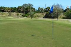 Golfplatz-Reihe stockfotografie