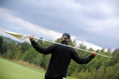 Golfplatz - Tschechische Republik Lizenzfreies Stockfoto