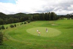 Golfplatz - Tschechische Republik Lizenzfreies Stockbild