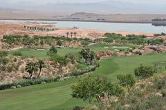 Golfplatz in Vegas Stockfotografie