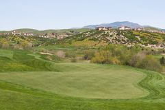 Golfplatzhäuser Stockbilder