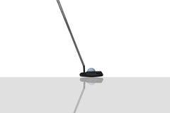 Golfputter royalty-vrije stock afbeelding