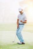 Golfputtgräsplan Fotografering för Bildbyråer