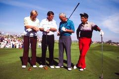 Golfs greatest. stock image