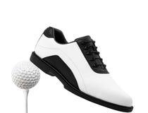Golfschoen Stock Afbeelding