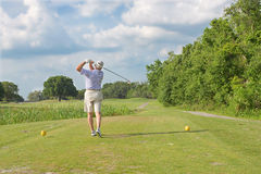 Golfschommeling Stock Fotografie