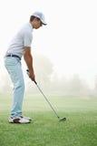 Golfschussmann lizenzfreies stockbild