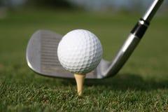 Golfschwingen! Lizenzfreie Stockfotos