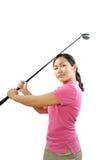Golfschwingen Stockfotografie
