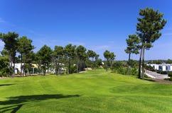 Golfsemesterort Arkivbilder
