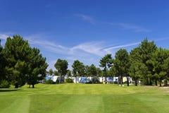 Golfsemesterort Royaltyfri Fotografi